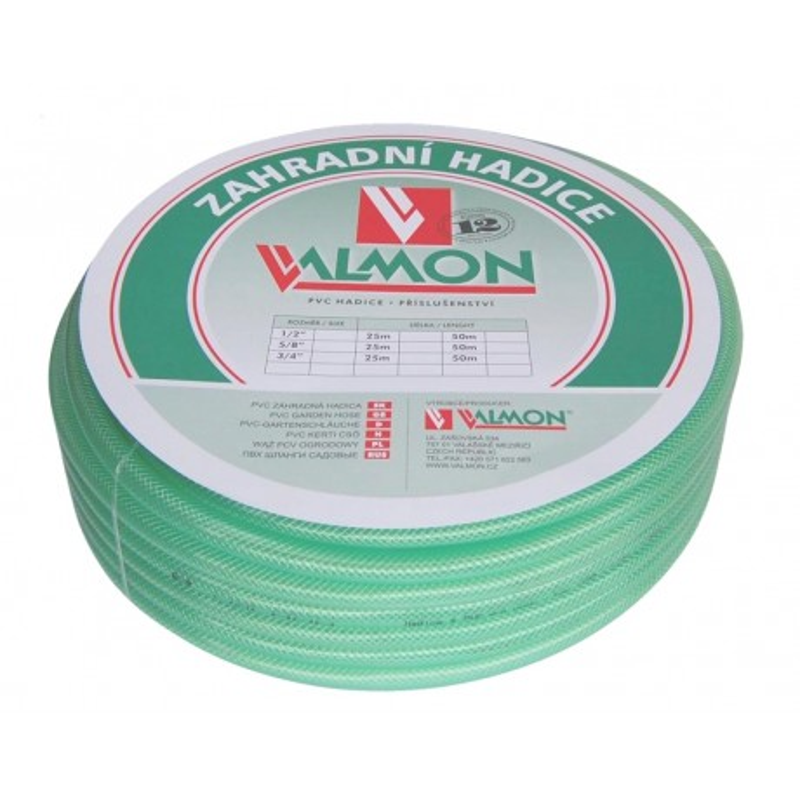 "Valmon Hadice PVC 1"" (24,5mm) / metráž"