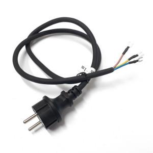 Kabel H05RNF 3G1,0mm se zástrčkou - 1 m